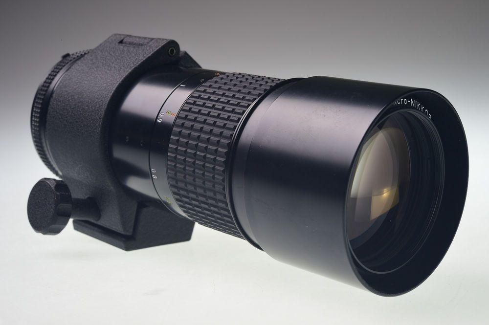 Nikon Ai S Micro Nikkor 200mm F 4 Excellent Nikon Nikon Micro Excellence