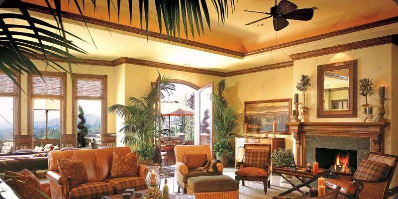 Tuscan Interior Design Designer Craftsman Style Southern