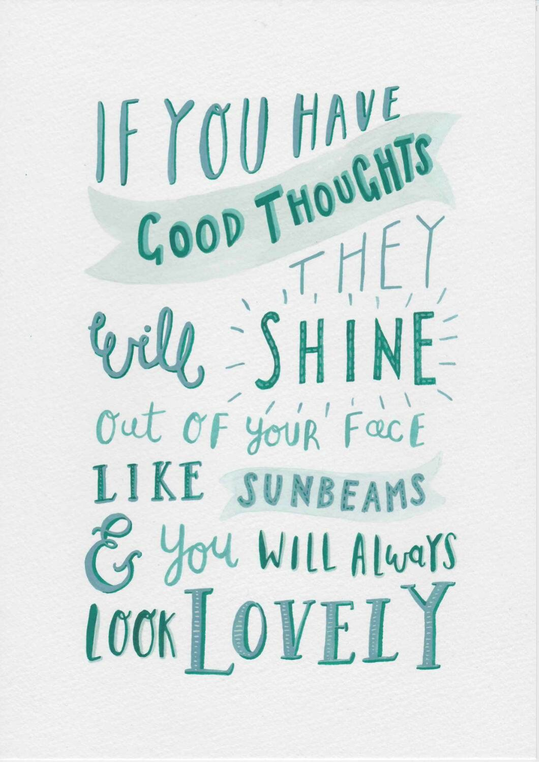 Painting Quotes Watercolor And Gouache Painting Typography Print Roald Dahl Quote