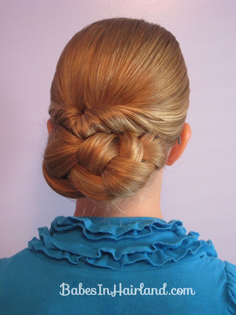Easy rolled braid updo updo kids s and website