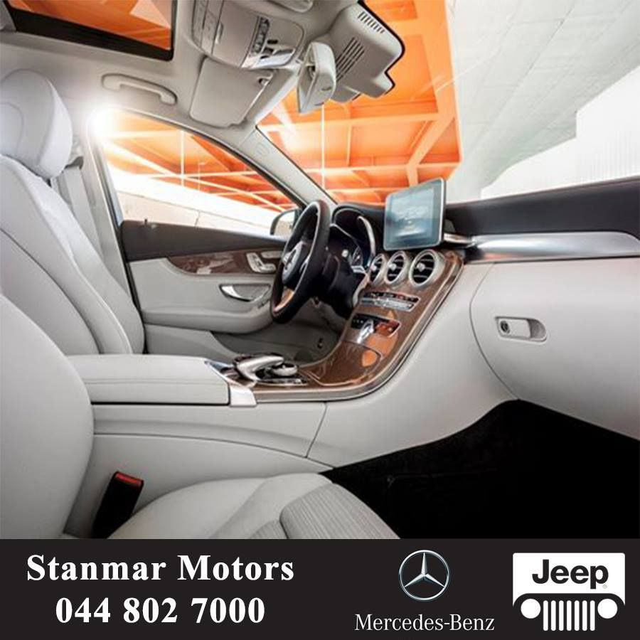 Take A Look Inside The New 2015 C-Class Mercedes-Benz
