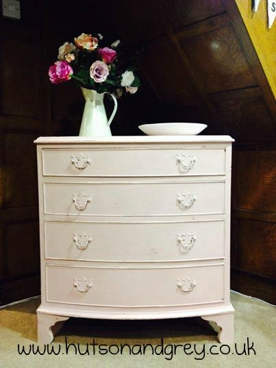 Hutson and Grey - Chest of drawers hand-painted in Antoinette Chalk Paint™