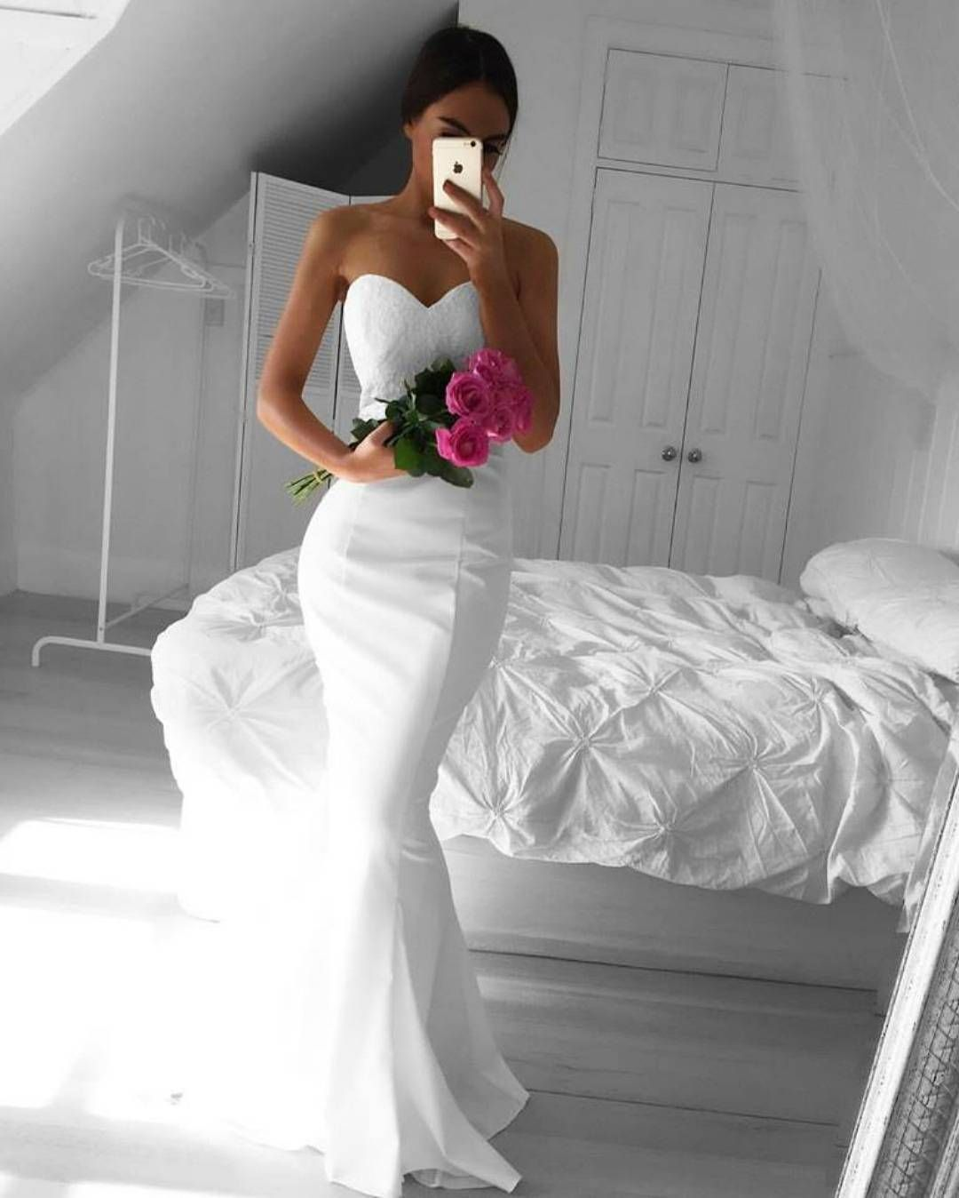 Stunning Wedding Dress From One Of Our Ultra Fab Vendors Crisp Clean White Sweetheart