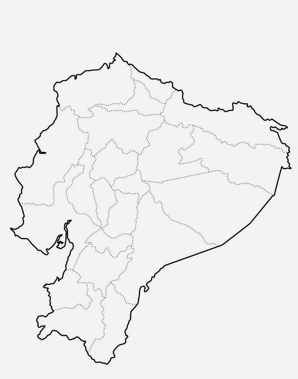 Resultado de imagen para mapa politico del ecuador actual ...