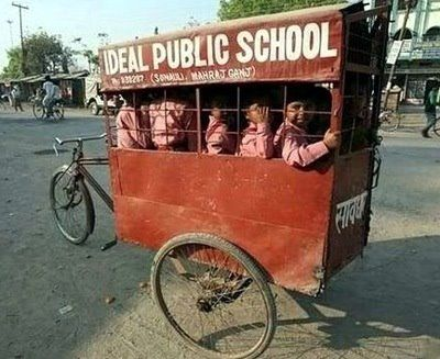 Transporte Escolar India Pictures For School Bicicletas
