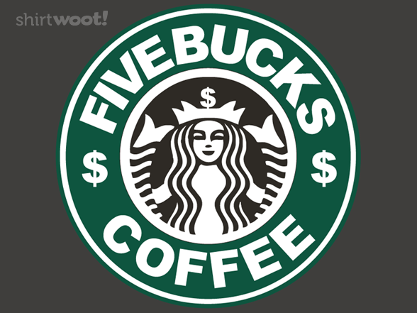Now That's Just Overpriced by shmeedles Coffee logo