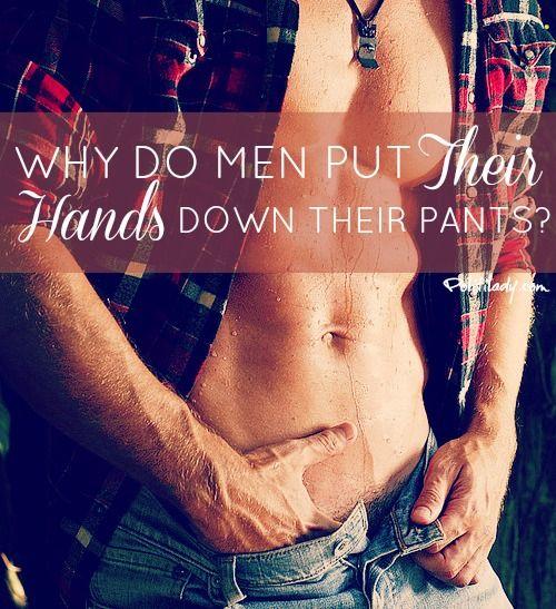 Men in their pants