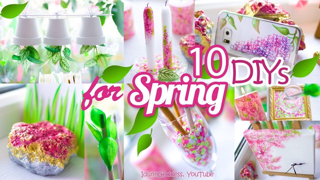 10 Diy Room Decor And Desk Organization Ideas For Spring 10 Awesome Di Tumblr Room Decor Diy Room Decor Spring Decor Diy