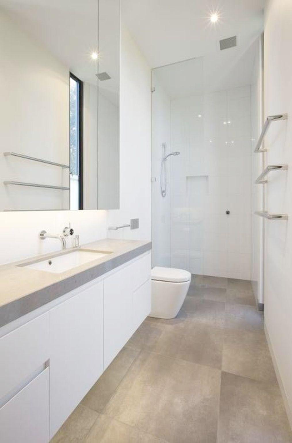 Google Image Result In 2020 Modern Small Bathrooms Bathroom Design Small Long Narrow Bathroom