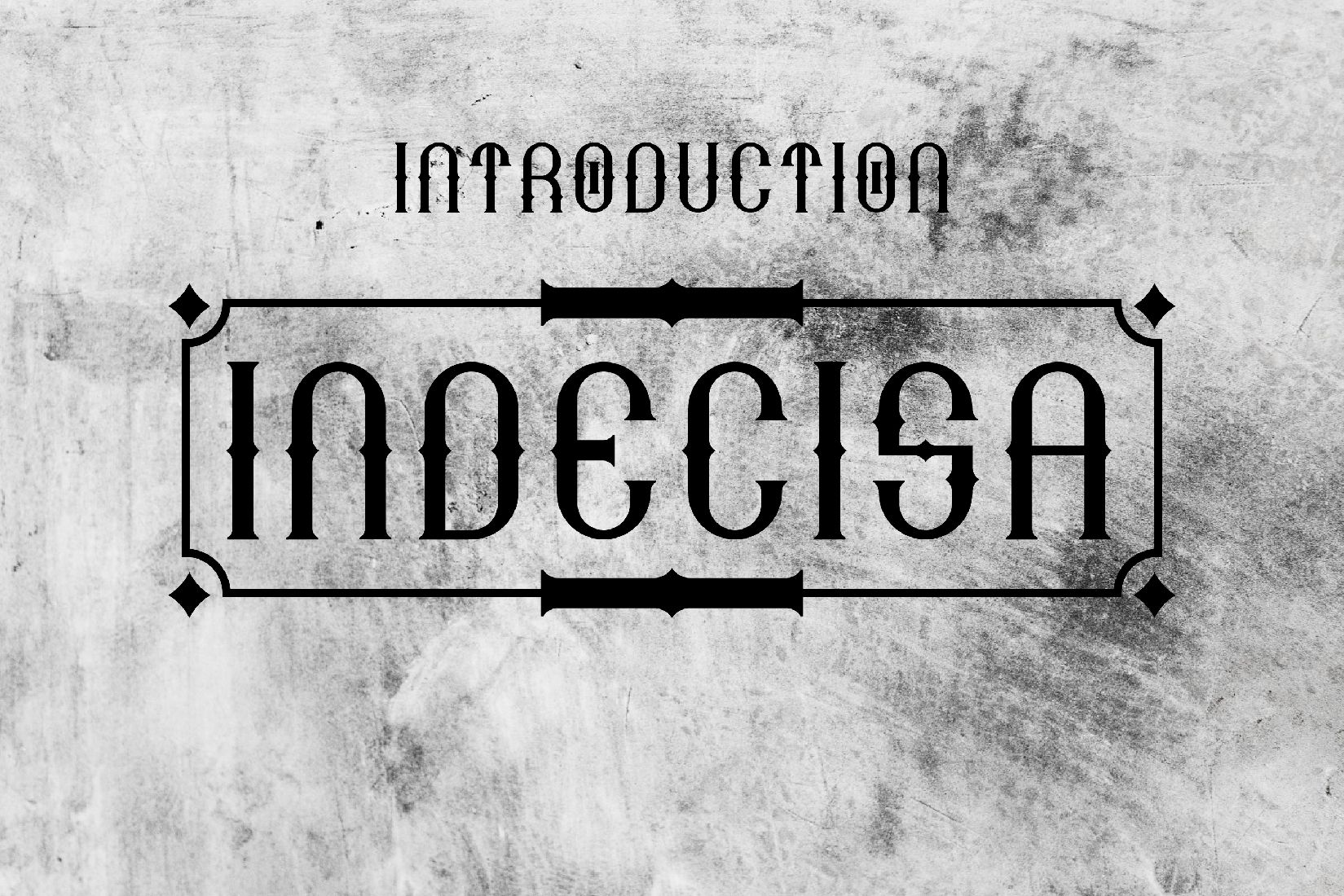Indecisa (Font) by TypEra · Creative Fabrica Vintage