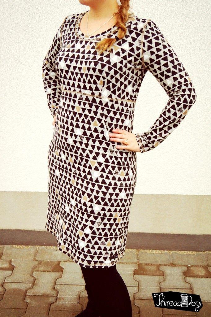 Silvesterkleid von Rosa P. Vorne | ein schnitt - vier styles ...