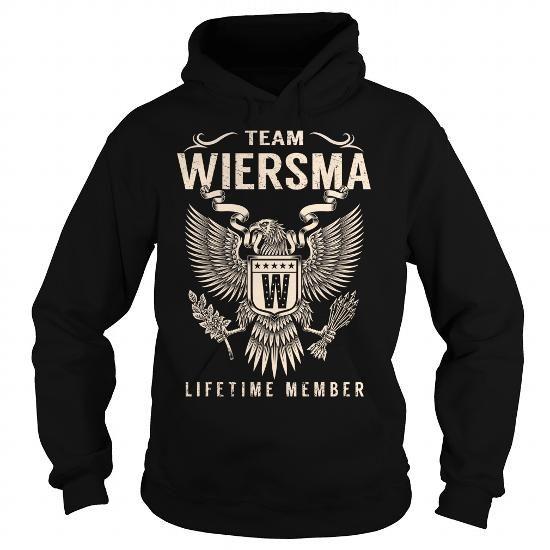 Awesome Tee Team WIERSMA Lifetime Member - Last Name, Surname T-Shirt T shirts