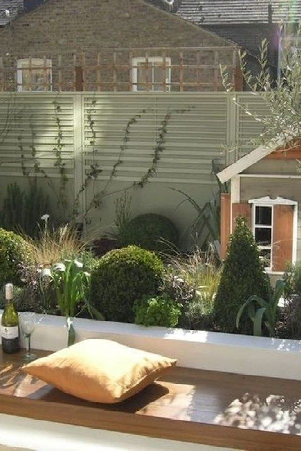 Creative Terrace Garden To Convince Your Family 30 garden One of the best materials for building your own terrace garden is pressed wood It is easy to process fits well i...