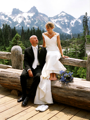 Paradise Inn - Mount Rainier National Park Wedding