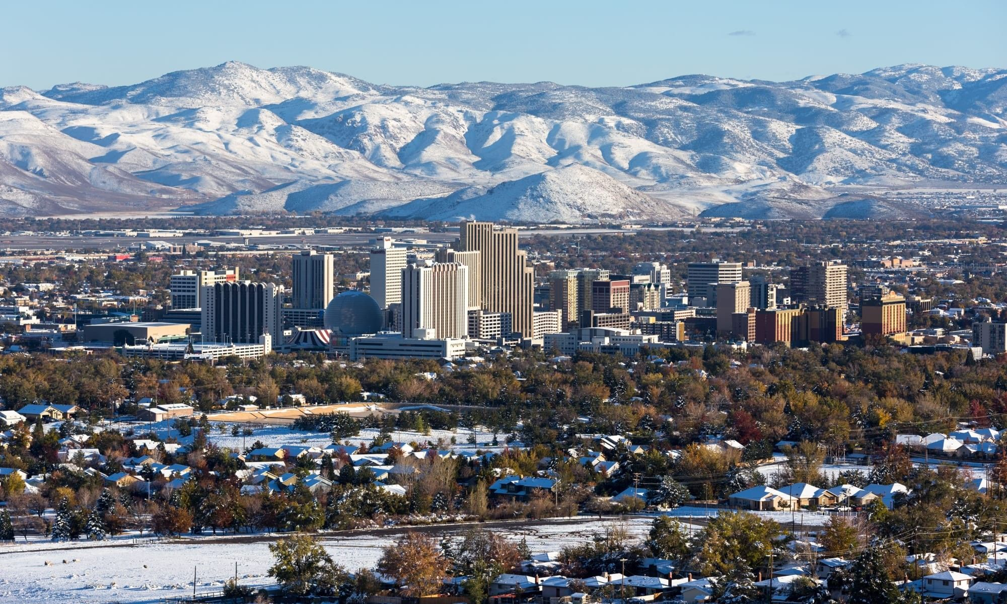 Reno Nv Usa Travel Destinations Rental Background Check