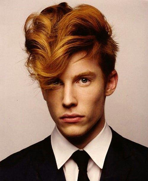 Nick Wooster Flock Of Seagulls Teddy Boy Hair Red Hair Men Hair Beauty Mens Hair Colour