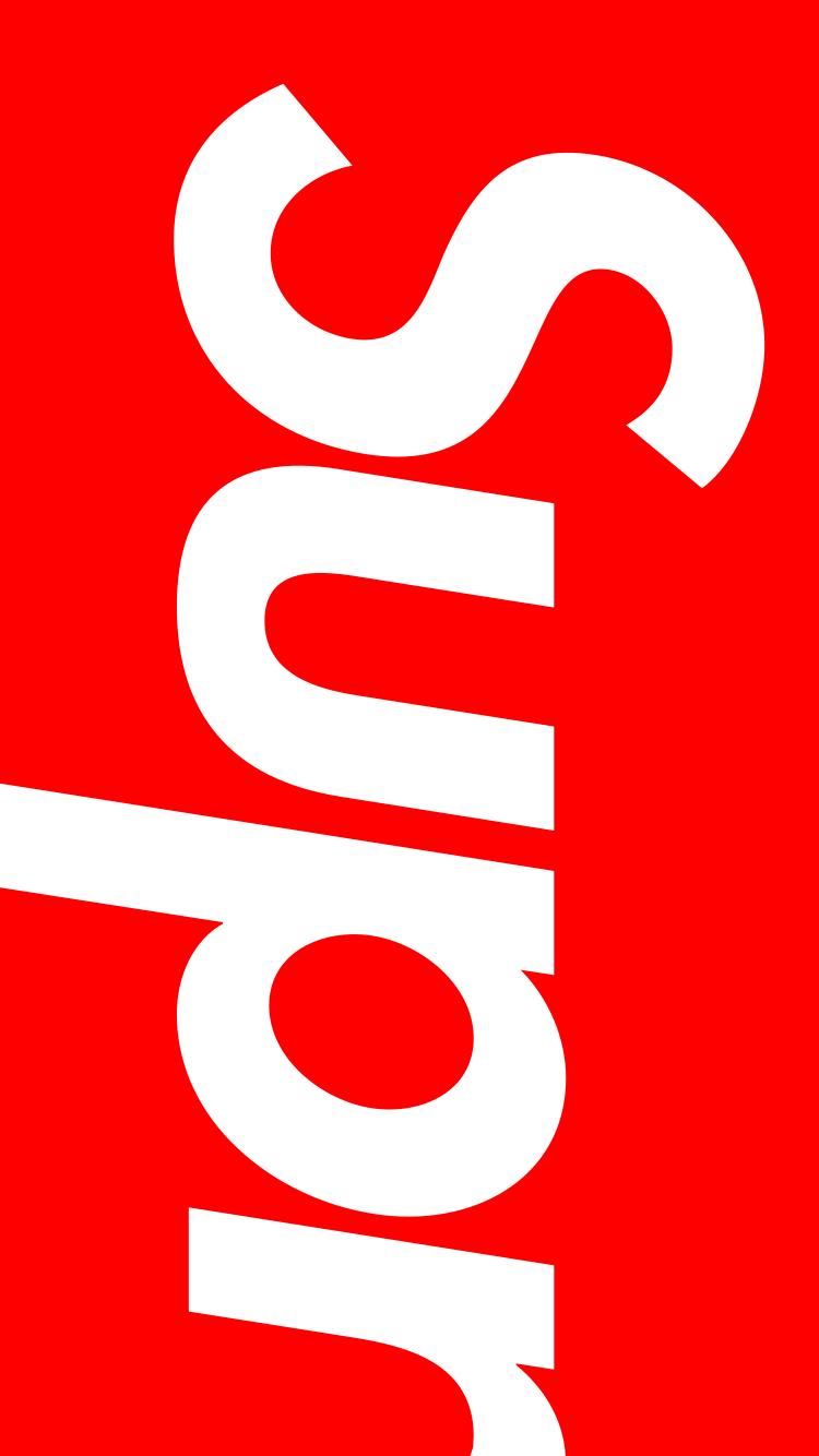 2019 年のsupreme Wallpaper 壁紙 Iphone Lock 180321 Red Box