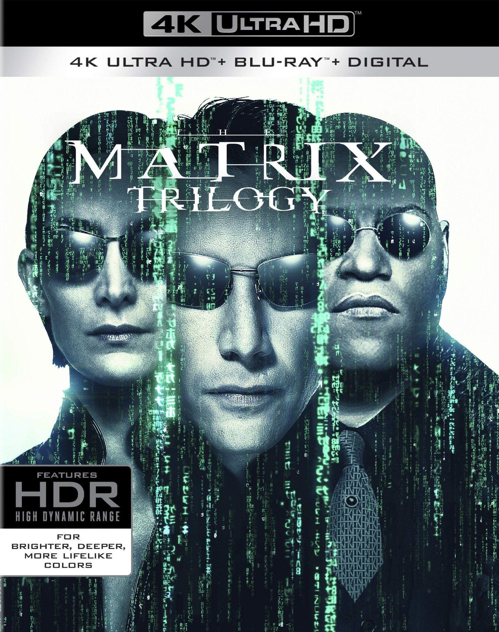 The Matrix Trilogy (1999-2003) ORIGINAL Untouched DDP5.1 CH 640Kbps E-AC3 Hindi Audio 1.80GB