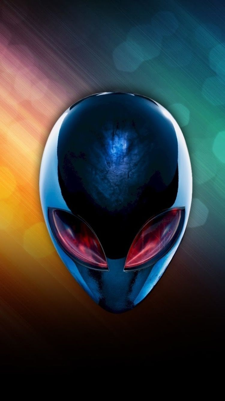Alienware Alien Head, Ruby Eyes