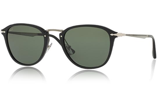 PERSOL Persol Herren Sonnenbrille » PO3164S«, schwarz, 95/31 - schwarz/grün