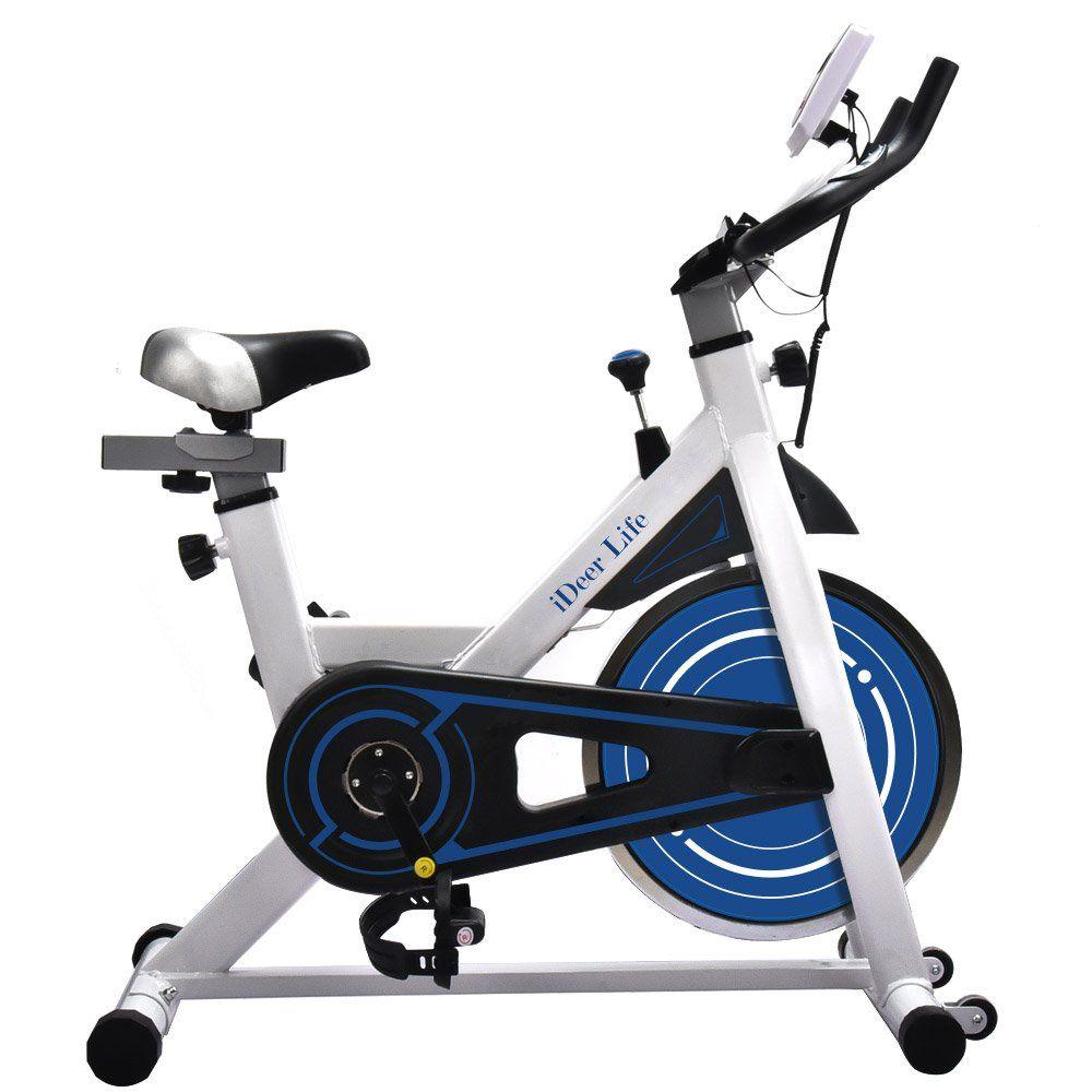 Ideer Exercise Bike Indoor Workout Cycling Bike Height Adjustable