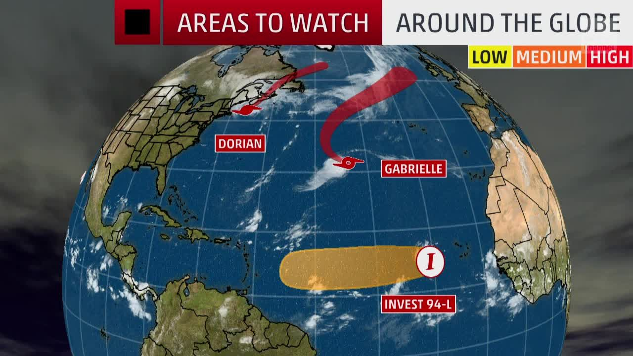 Not Just Dorian Several Other Tropical Systems We Re Watching Around The Globe The Weather Channel National Hurricane Center Noaa Hurricane