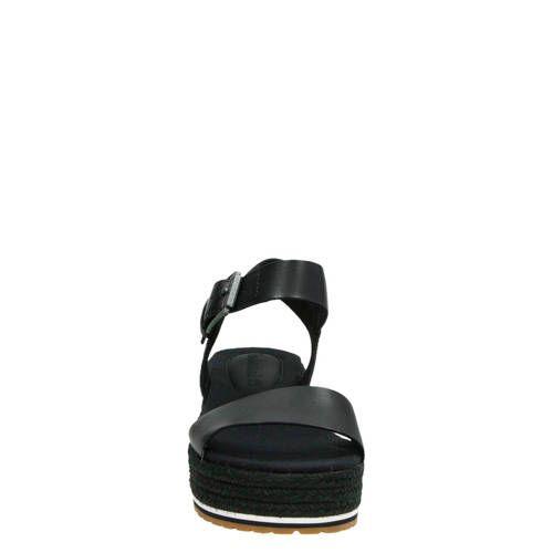 Timberland Santorini Sun plateau sandalen zwart | Products