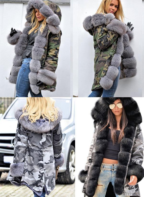 3c2e5609926ae Pattern:Camouflage #coats #fashion #outerwear #women #winter #outfits