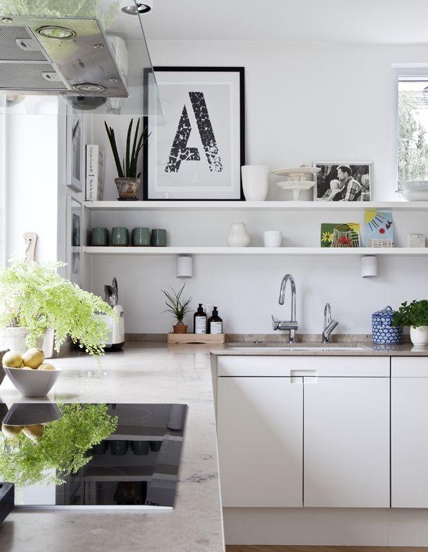 Wandregal Küche Regale Pinterest Kitchens, Villas and Rum - regale für küche