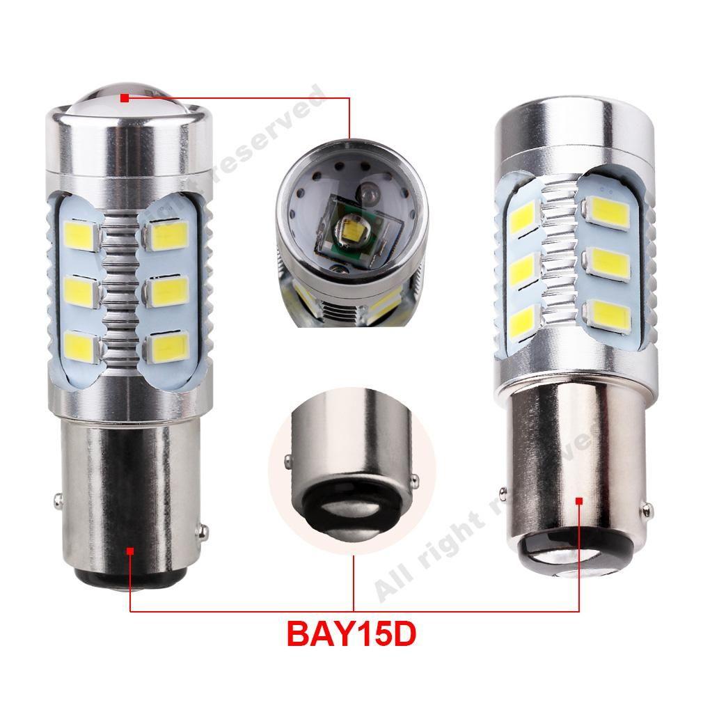 Ampoules Au Del 1157 X2 Pour Lumiere A Frein Ou Clignotant Led Car Bulbs Headlight Bulbs Cree Led
