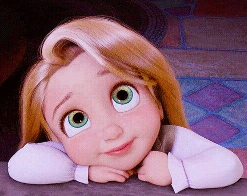 Baby Rapunzel Putri Disney Disney Kartun
