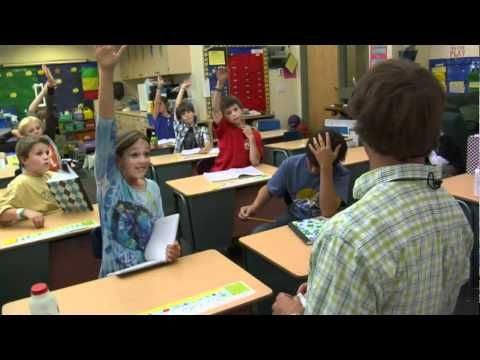 Video about importance of using FM system in a classroom for hearing impaired kids