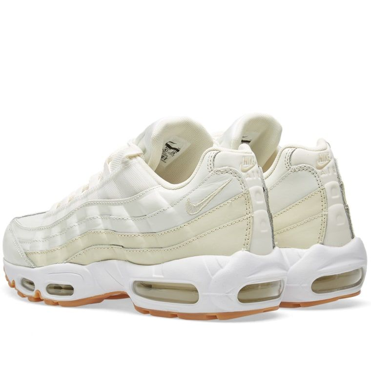 reputable site 2aa40 463c2 Nike Air Max 95 W Sail, Fossil   Light Brown 2