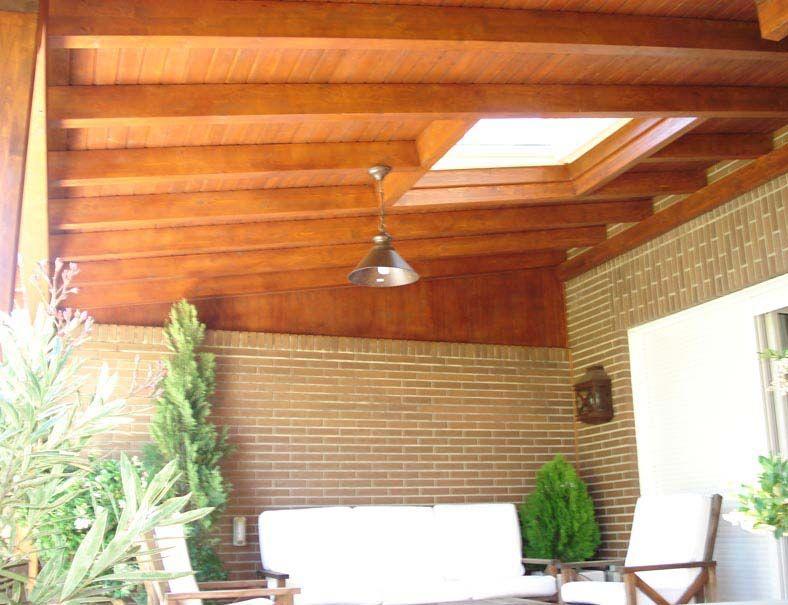 Dise o e instalaci n de porches de madera porches - Bricomania sevilla ...