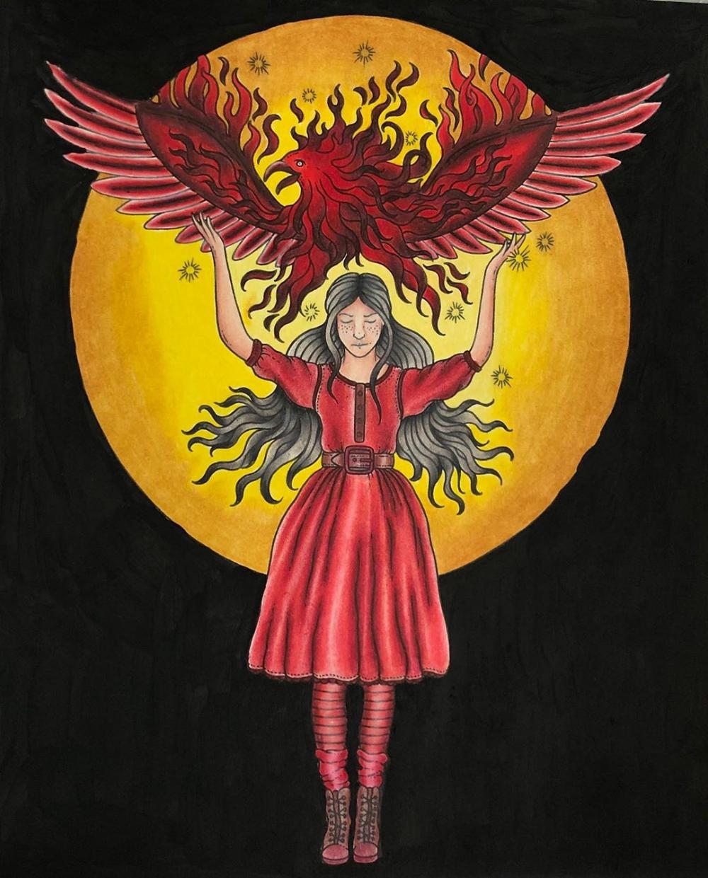 Hanna karlzon, spirit animals image by Kathleen Creasbaum ...