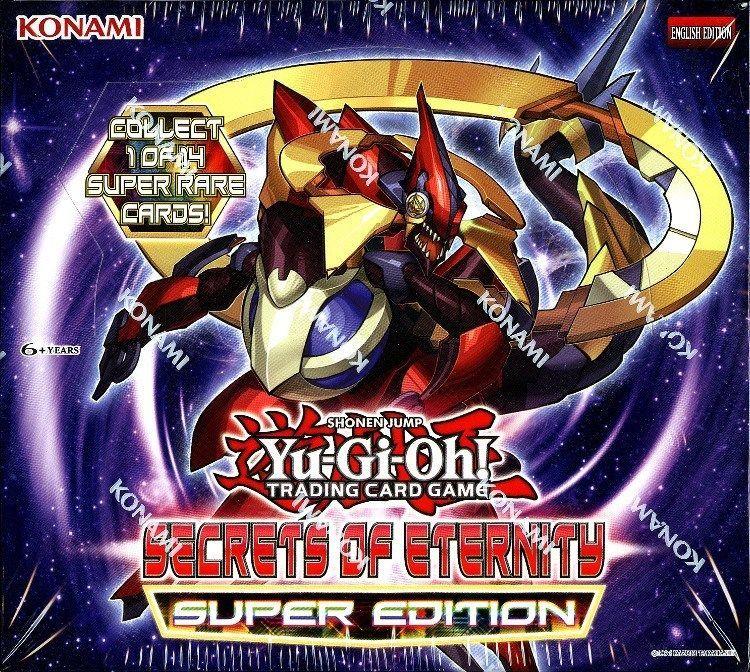 Details about yugioh secrets of eternity super edition box