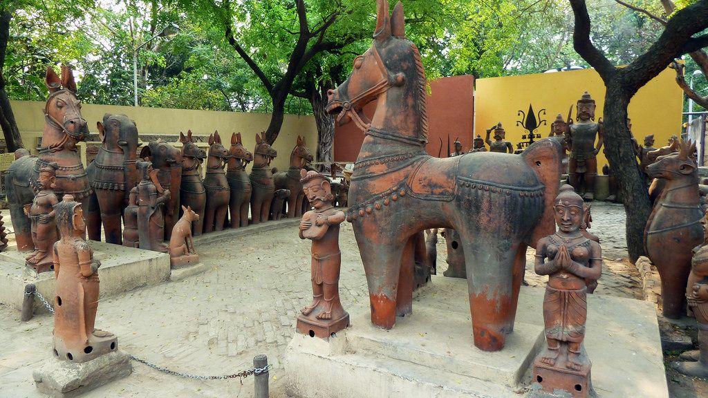 India Delhi National Crafts Museum Terracotta Figures 8