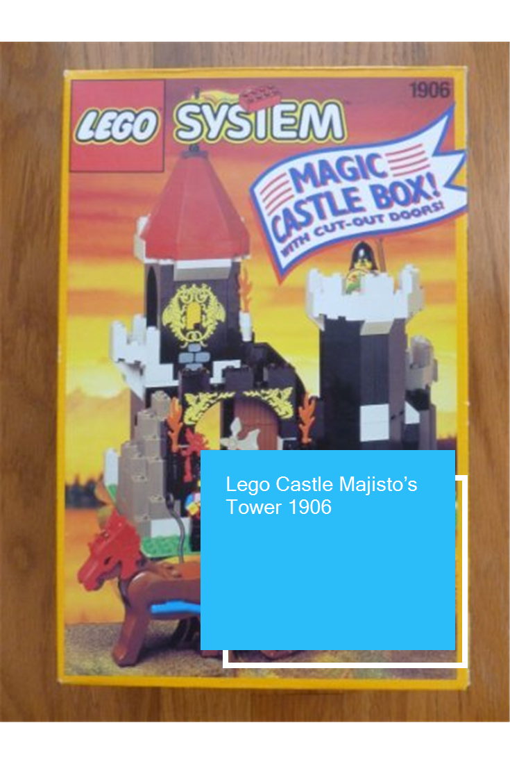 Lego Castle Majisto's Tower 1906 Lego castle, Castle, Lego