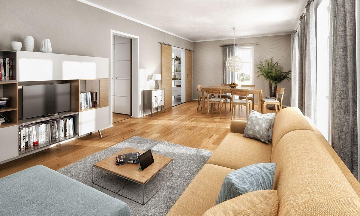 Wohnzimmer im Bodensee 129 Town country haus, Wohnen