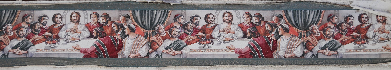 Kitchen Wallpaper Border Jesus Last Supper Wallpaper Border Last Supper Pinterest