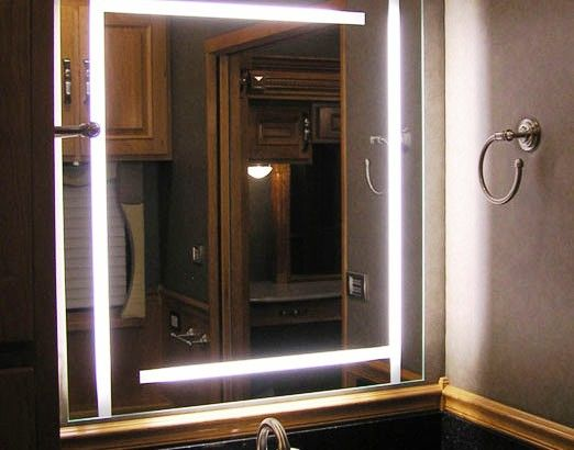 LED Mirrors are available in modern designer glass at Glass - badezimmerspiegel mit led