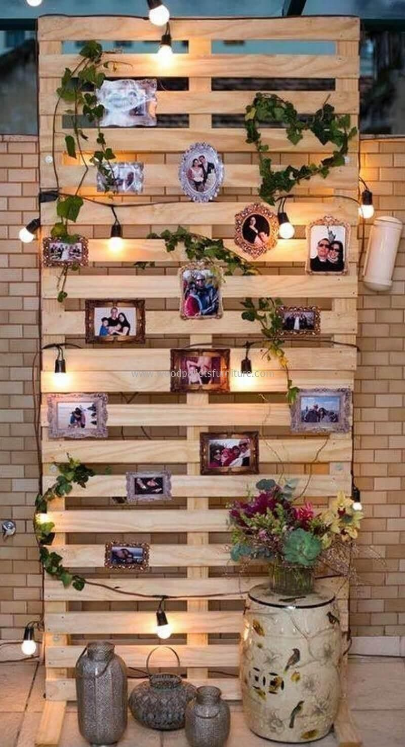 30+ Cute Home Decor Ideas With Wooden Pallet That Looks