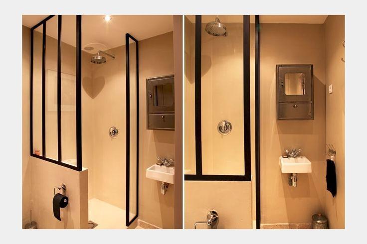 Cool id e d coration salle de bain petite salle d 39 eau - Idee deco salle de bain petit espace ...