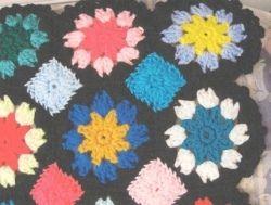 Multi Color Floral Afghan | FaveCrafts.com