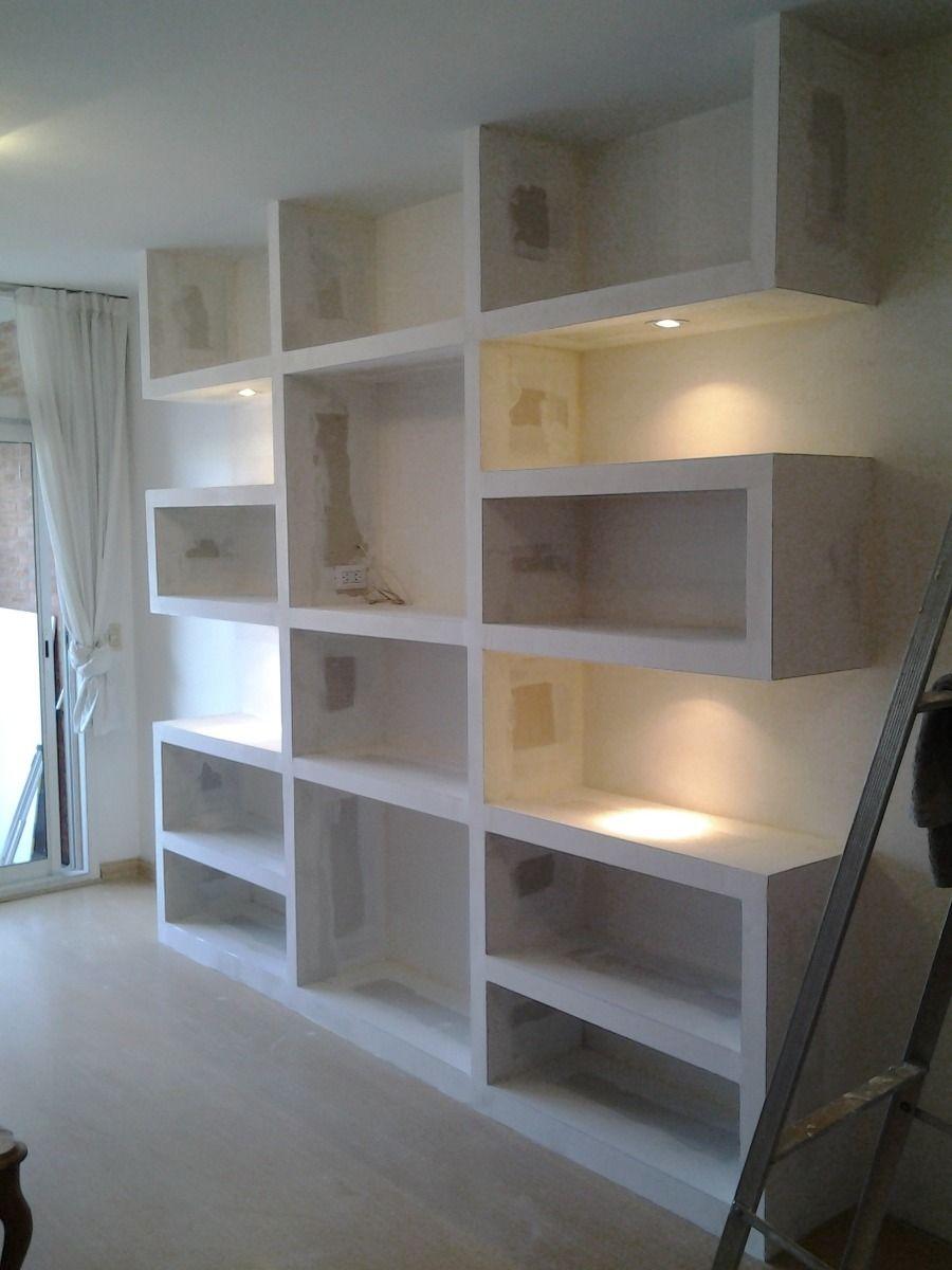 imagen relacionada wohnzi regal pinterest inneneinrichtung trockenbau und holztisch. Black Bedroom Furniture Sets. Home Design Ideas