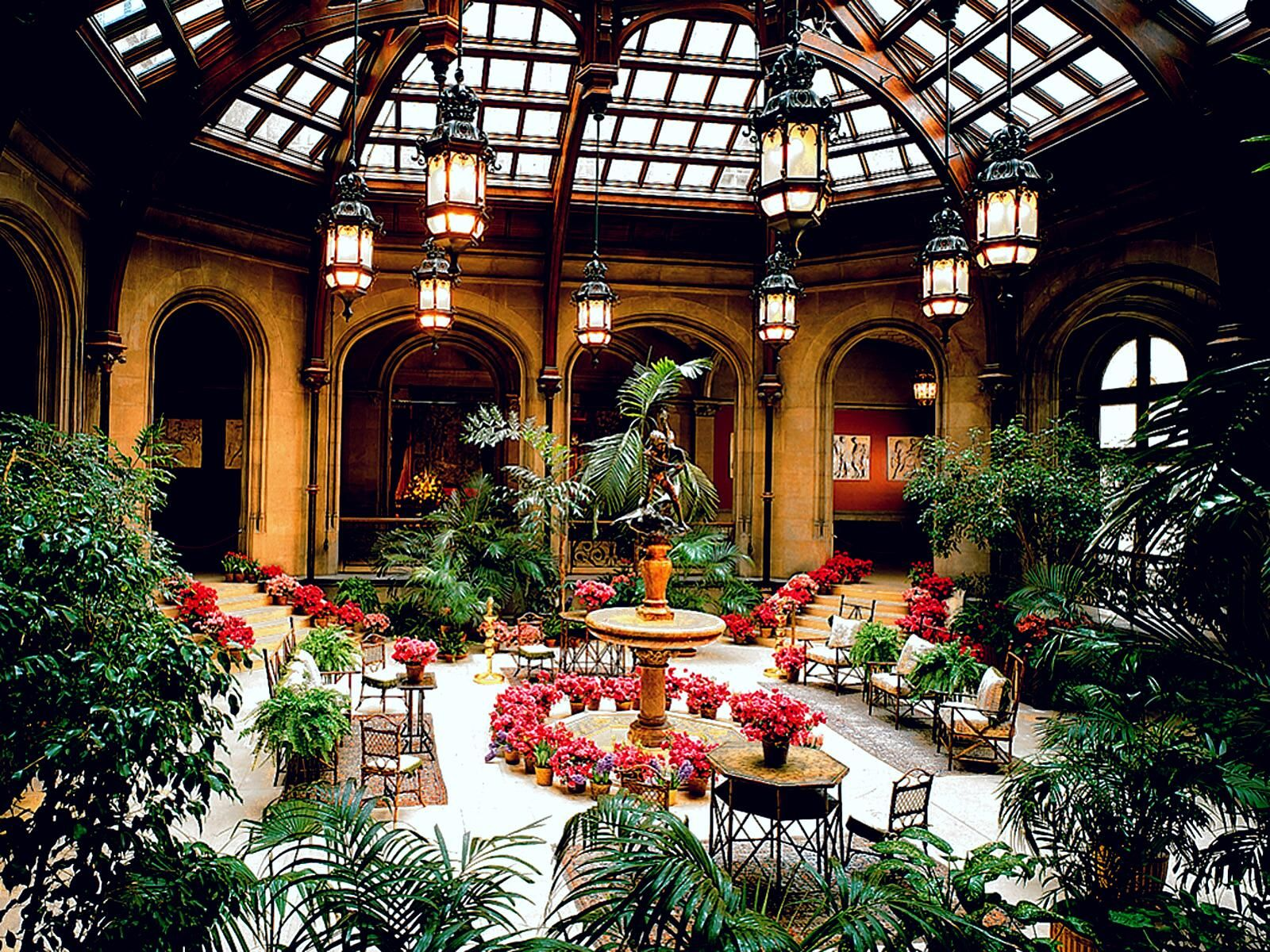The Winter Garden At The Biltmore Estate, Asheville, NC.