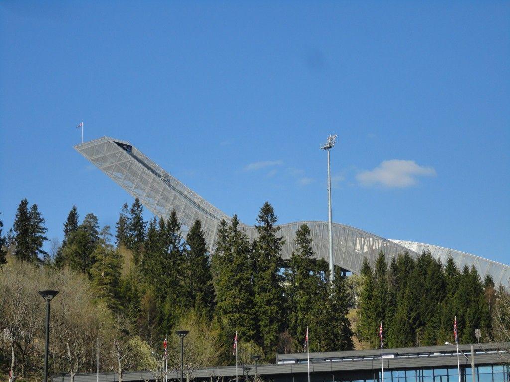 Cosa vedere a Oslo: il trampolino di Holmenkollen