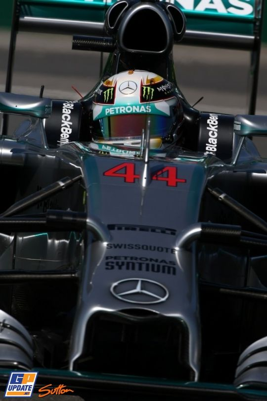 Lewis Hamilton, Formule 1 Grand Prix van Canada 2014, Formule 1