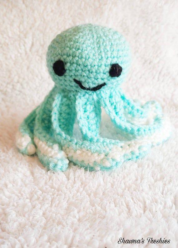 Crochet Octopus| NICU Baby| Crochet| Handmade| Sea Creature| Octopus Toy | Baby Shower| Gift| Babies| Nursery| Preemie| Amigurumi| Baby Gift #crochetoctopus