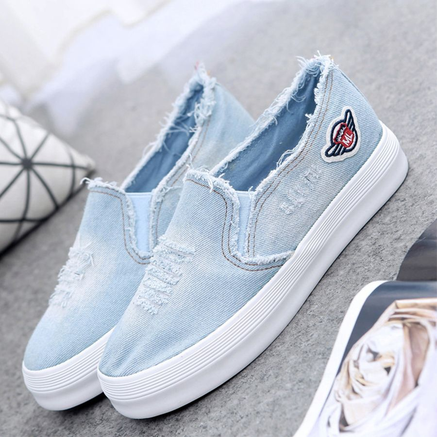 Womens Casual Hidden Platforms Fashion Wedge Sneakers Thick Bottom Lazy Loafers Walking Shoes